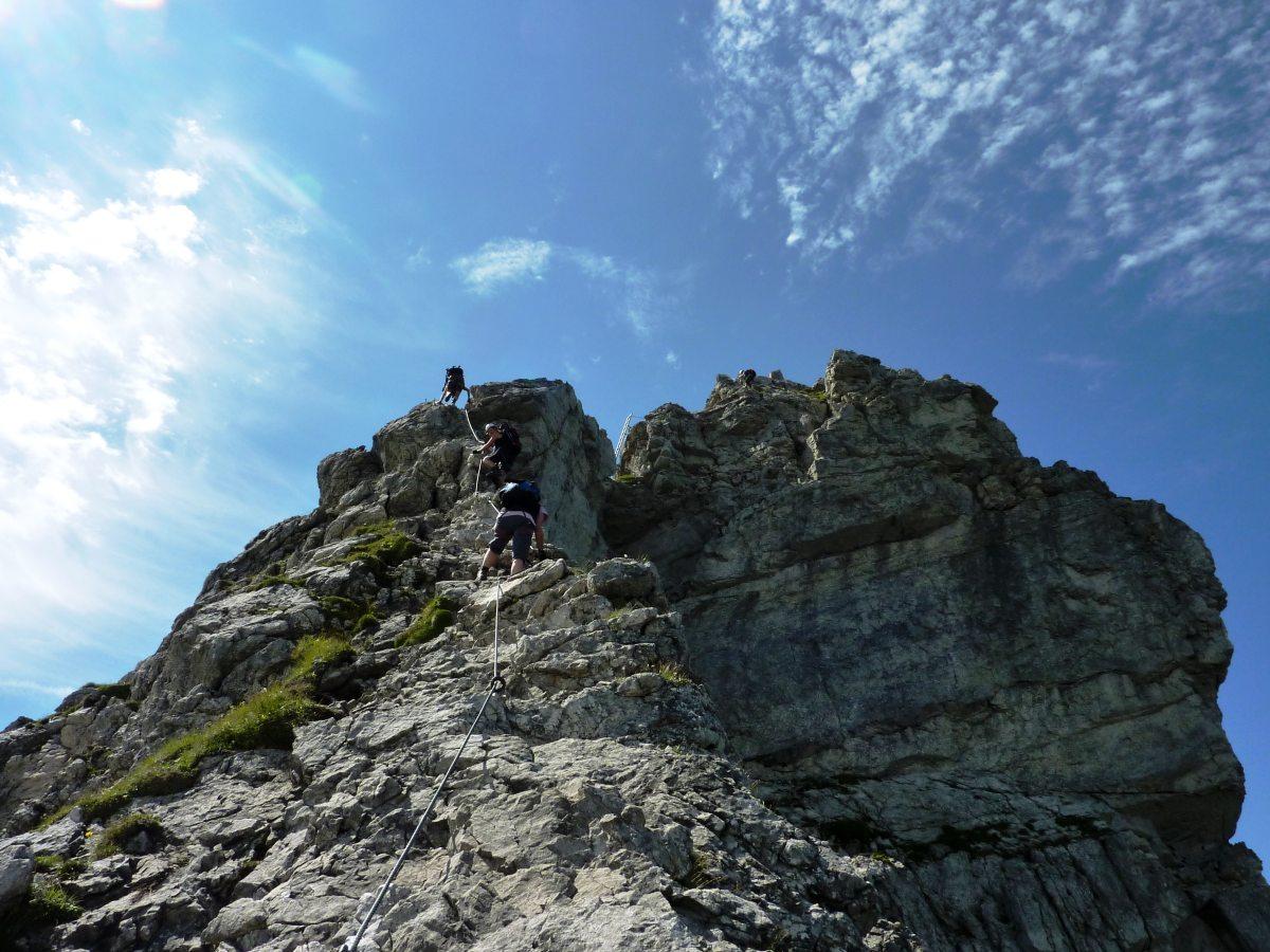Klettersteig Nebelhorn : Die nebelhornbahn in oberstdorf genießen sie den gipfel