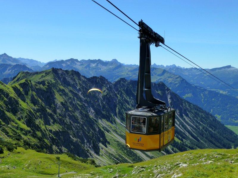 Nebelhorn Cable Car