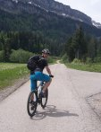 Mountainbiker im Rohrmoostal