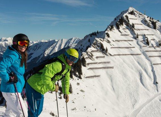 Skispass am Walmendingerhorn