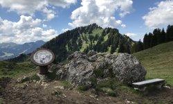 Am Bärenköpfle mit Blick auf den Steineberg