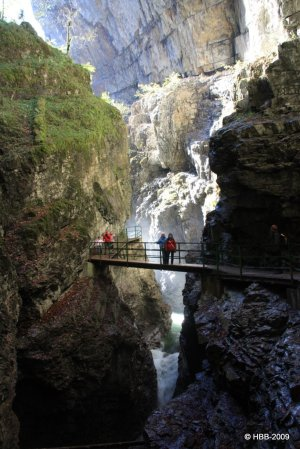 Die imposante Breitachklamm bei Oberstdorf
