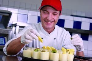 Stefan in der Küche