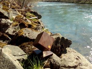 Der Award am rauschenden Fluss ;)