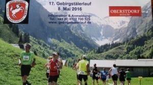 17. Gebirgstälerlauf in Oberstdorf