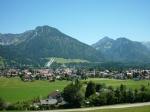Idyllisches Oberstdorf im Allgäu