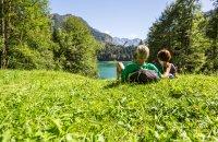 Den Sommertag am Freibergsee in Oberstdorf genießen