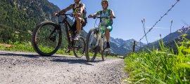 Rund um Oberstdorf im Allgäu mit dem Bike unterwegs