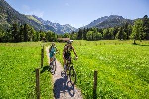 Mit dem Mountainbike in die Oberstdorfer Täler