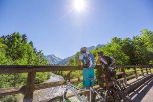 Traumhaftes Wetter für eine Biketour durch die Oberstdorfer Täler
