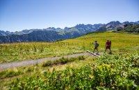 Traumhafter Ausblick beim Wandern am Fellhorn