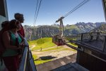 Mit der Bahn zur Fellhorn Gipfelstation