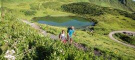 Vom Schlappoldsee zum Fellhorngipfel