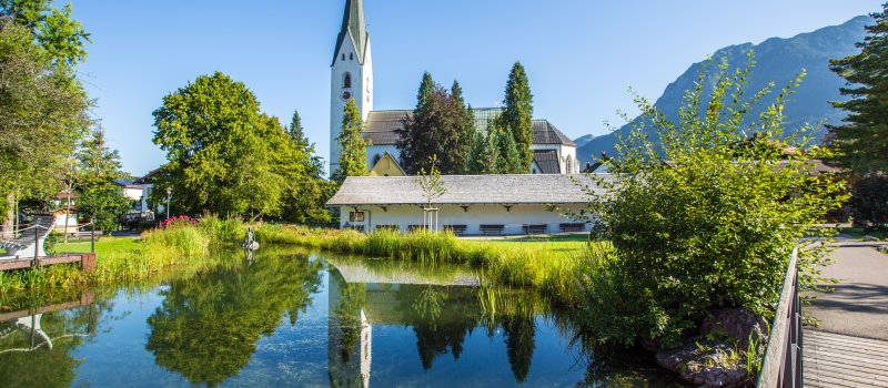 Kurpark in Oberstdorf