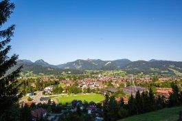 Oberstdorf zu Füßen der Berge
