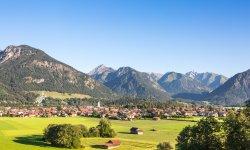 Die südlichste Gemeinde Deutschlands: Oberstdorf im Allgäu