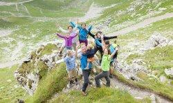 Wandern am Nebelhorn für Familien