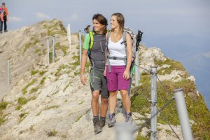Über Stock und Stein am Nebelhorn