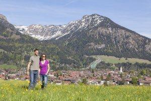 Es ist Frühling in den Allgäuer Bergen
