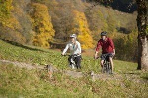 Mit dem Mountainbike ins Bergdorf Gerstruben