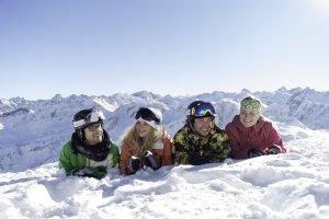 Mit Freunden in den Winterurlaub
