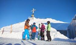 Starte Deine Abfahrt am Nebelhorngipfel