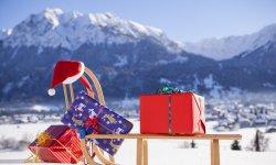 Geschenke mit Bergblick