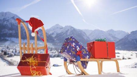 Der Weihnachtsmann im Allgäu