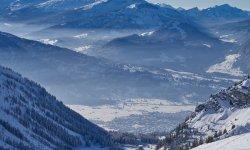 Weitläufige Ausblicke auf dem Nebenhorn in Oberstdorf im Allgäu