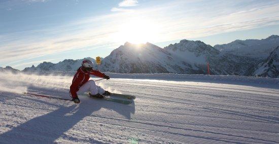 Skifahren am Walmendingerhorn