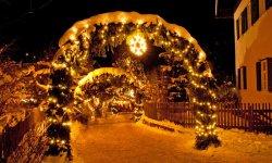 Weihnachtszauber und Bergromantik
