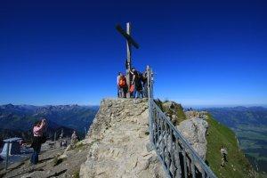Nebelhorn Gipfelkreuz
