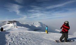 Snowboarder am Fellhorn