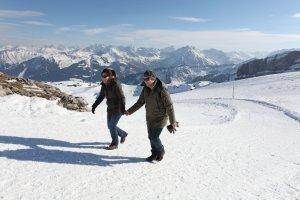 Winterwanderweg auf dem Ifen