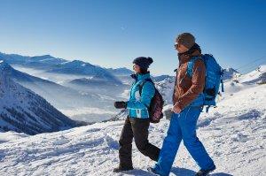 Traumhafte Winterlandschaft bewundern - was gibt es schöneres?