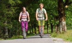 Sportlich unterwegs nach Oberstdorf