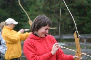 Bogenschießen-Spaß