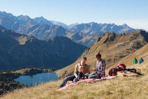 Der Herbst in den Allgäuer Alpen