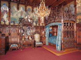 Schlafzimmer vom Märchenkönig - Schloss Neuschwanstein