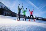 Den Nachmittag perfekt genutzt - mit einer Schneeschuhtour!