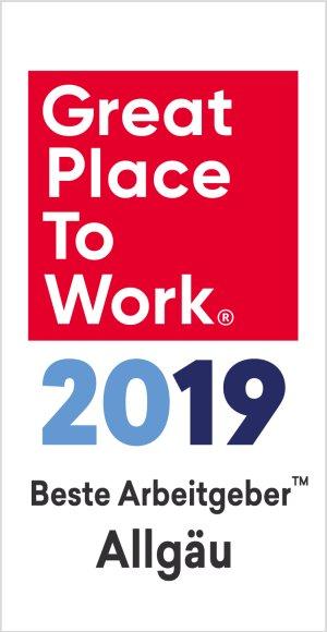 Beste Arbeitgeber im Allgäu 2019
