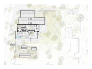 Grundriss 2. OG Neubau Therme