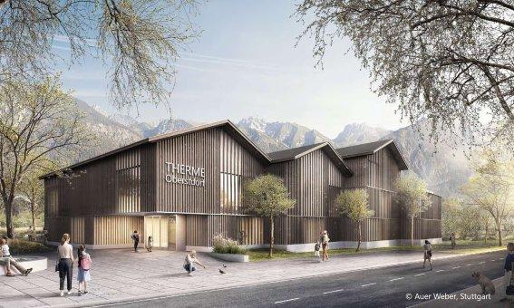 Neue Therme Oberstdorf - Visualisierung