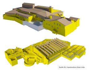 3D-Model Oberstdorf Therme