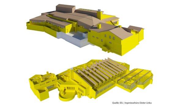3D-Model Oberstdorf Therme