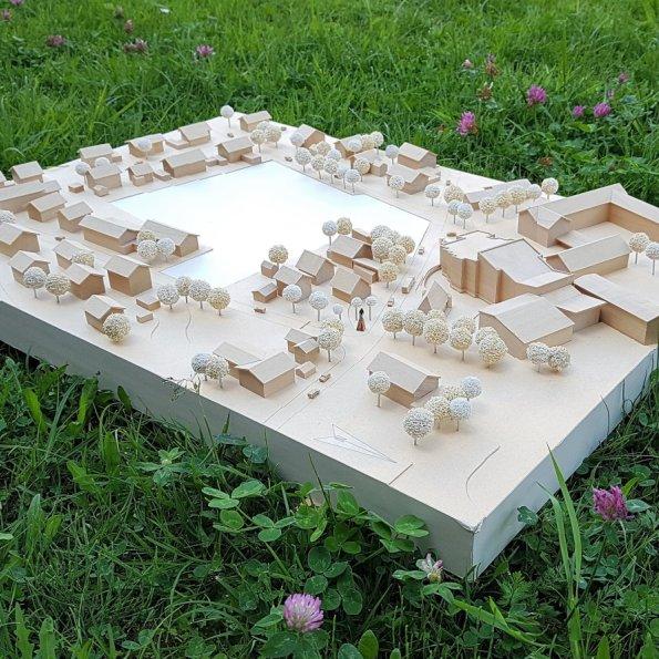 Architektenwettbewerb Modell