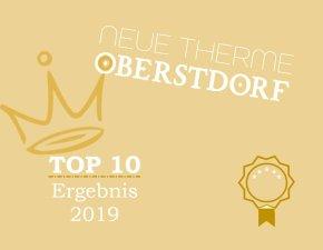 TOP 10 Auszeichnung