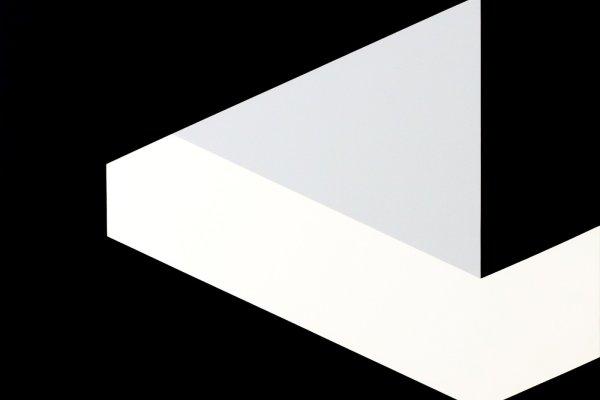 H.H.Zimmermann, Unterschiedliche Konstanz, Acryl auf Leinwand, 100 x 100 cm, 1989