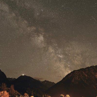 Milchstraße über dem Kegelkopf