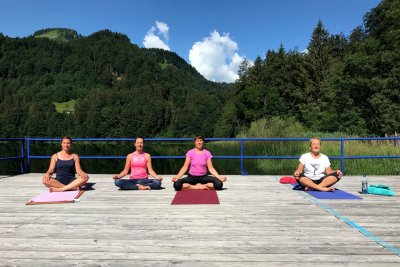 Sonnenmeditation See - Yoganda